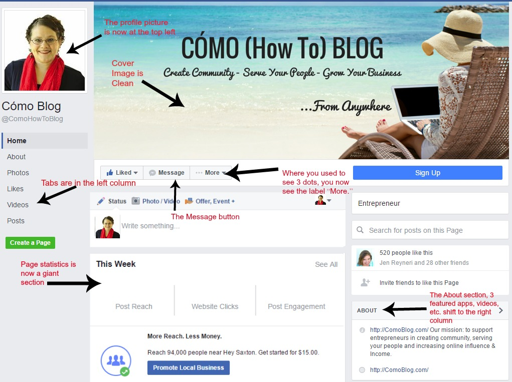 como_blog Facebook changes
